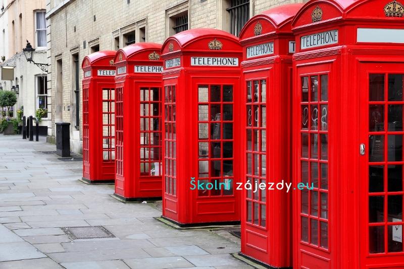 Školní týdenní zájezd do Velké Británie