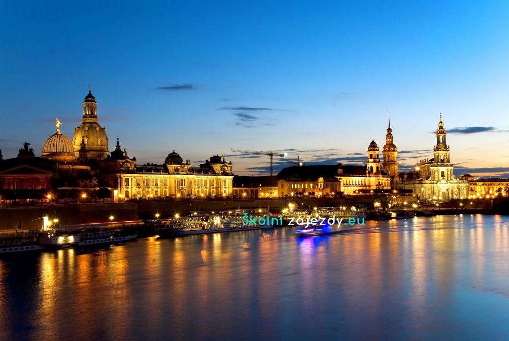 Školní výlety do Drážďan