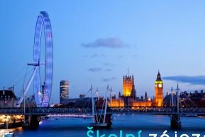Školní zájezdy do Londýna