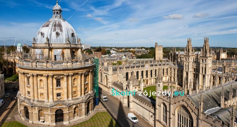 Školní zájezd do Oxfordu