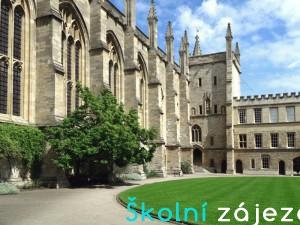 Školní zájezdy do Oxfordu