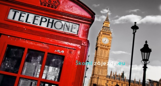 Školní zájezdy do Anglie