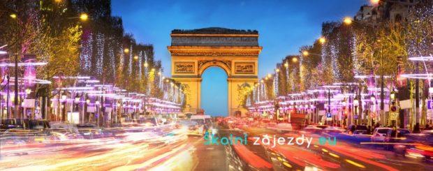 Školní zájezd do Francie