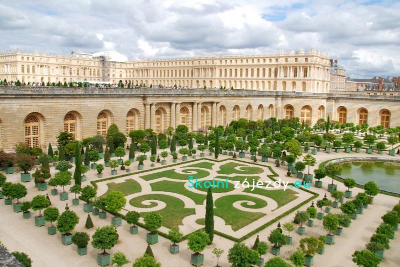 Školní zájezd do Versailles