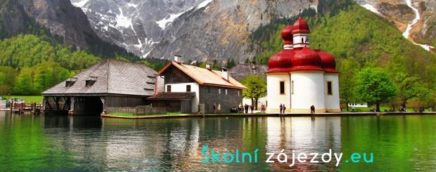 Školní výlet do Berchtesgadenu