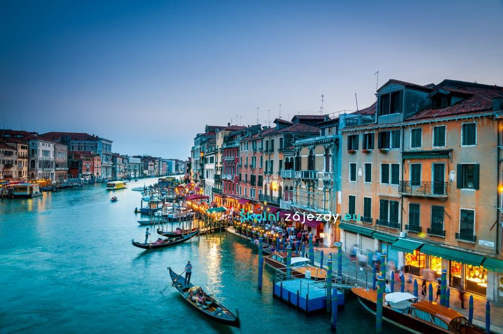 Školní zájezd do Itálie