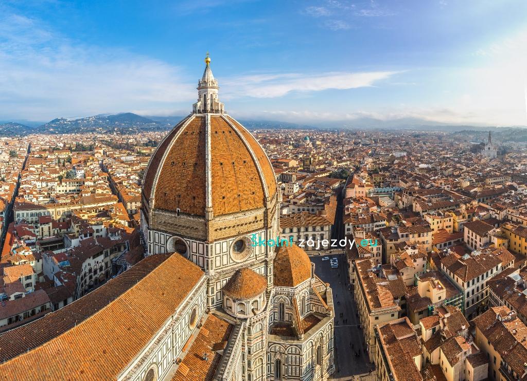 Školní zájezd do Řím a Florencie