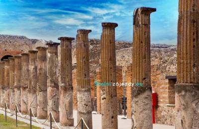 Školní zájezd do Pompejí