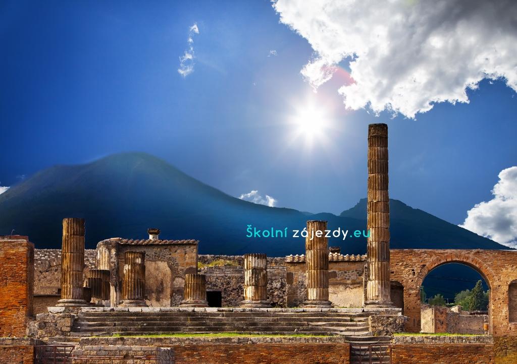 Školní zájezd do Říma a Pompeje