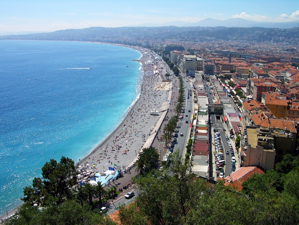 Školní zájezd do jižní Francie - Francouzská riviéra - Nice