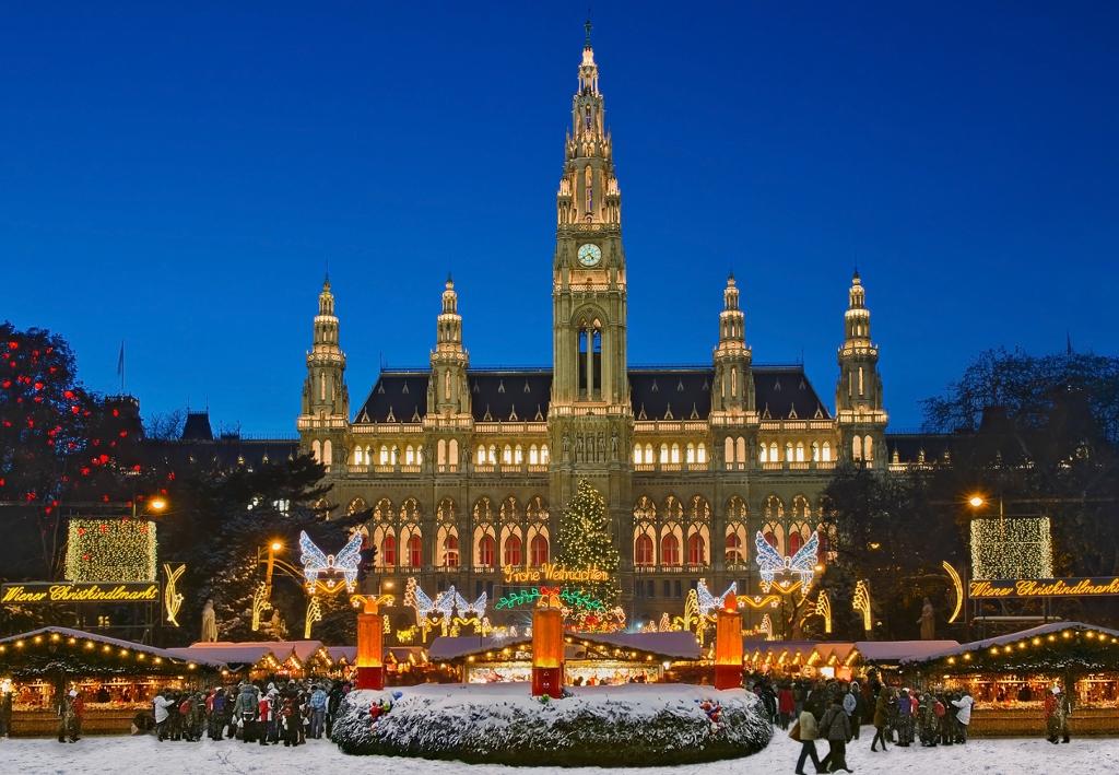 Školní výlet - Schonbrunn, Vídeň