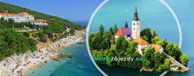 Školní zájezd do Chorvatska a Slovinska - letovisko Rabac
