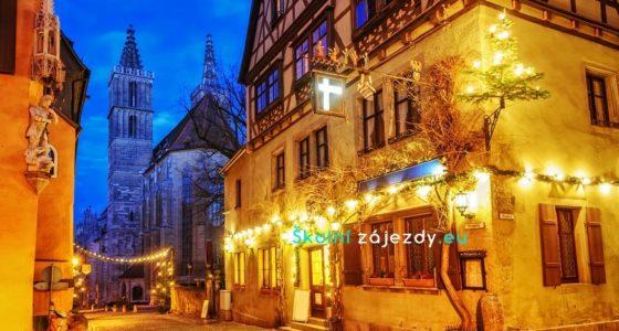 Školní zájezdy do adventního Rothenburgu