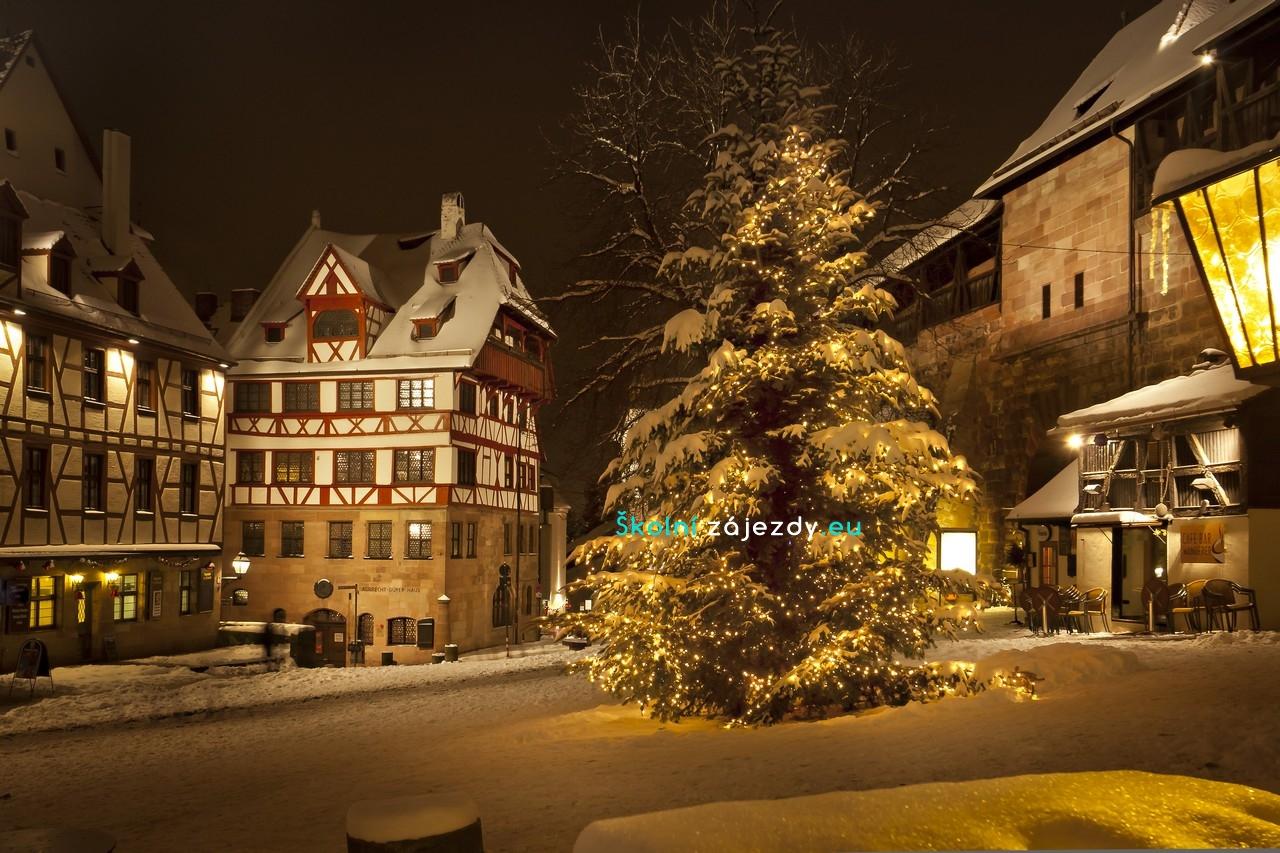 Školní adventní zájezdy do Norimberku
