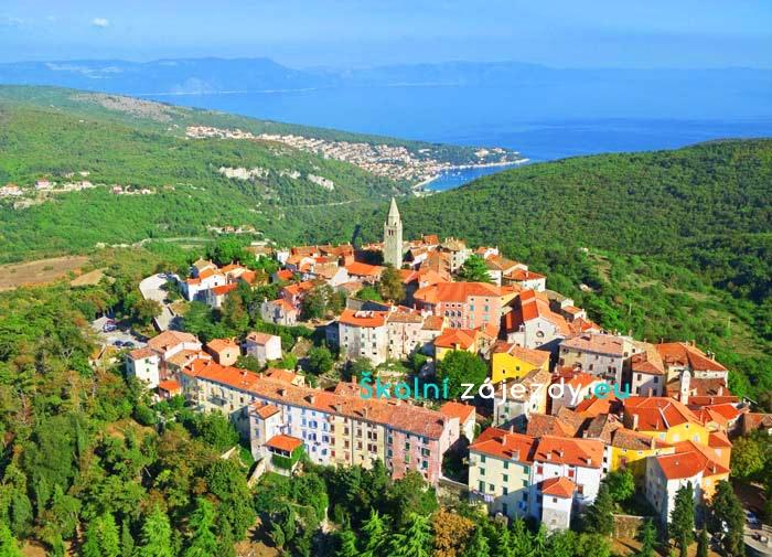 Školní poznávací zájezd do Chorvatska - Labin
