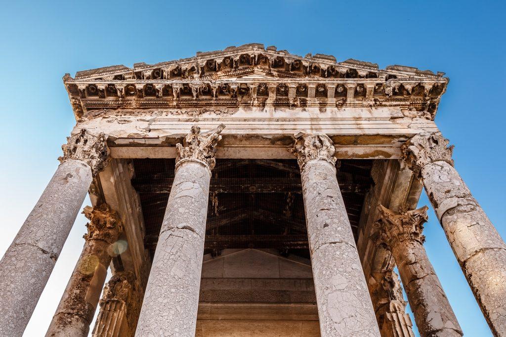 Augustův chrám v Pule