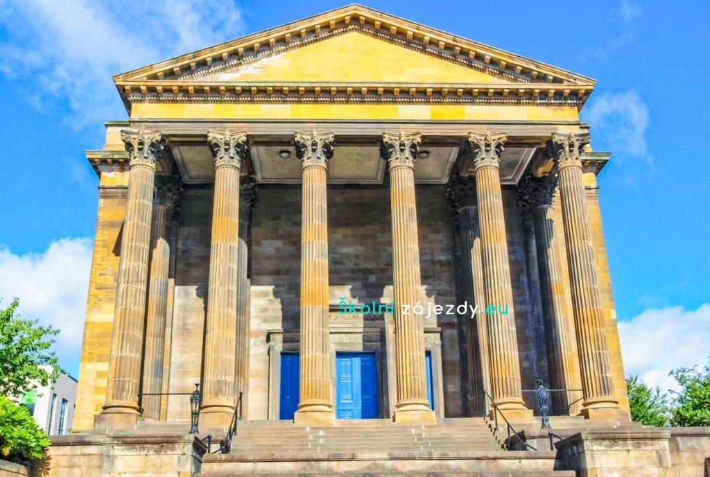 Školní výlet do Glasgow