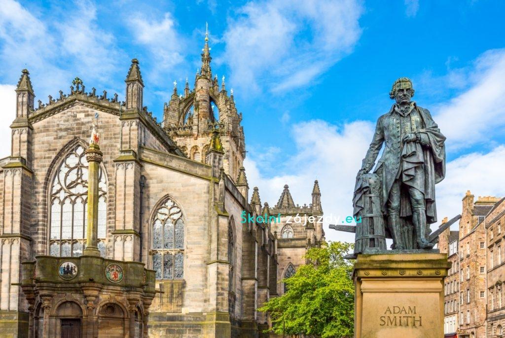 Školní zájezd do Edinburghu