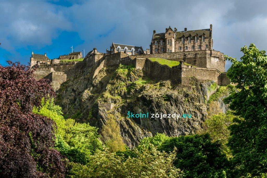 Školní výlet do Edinburghu