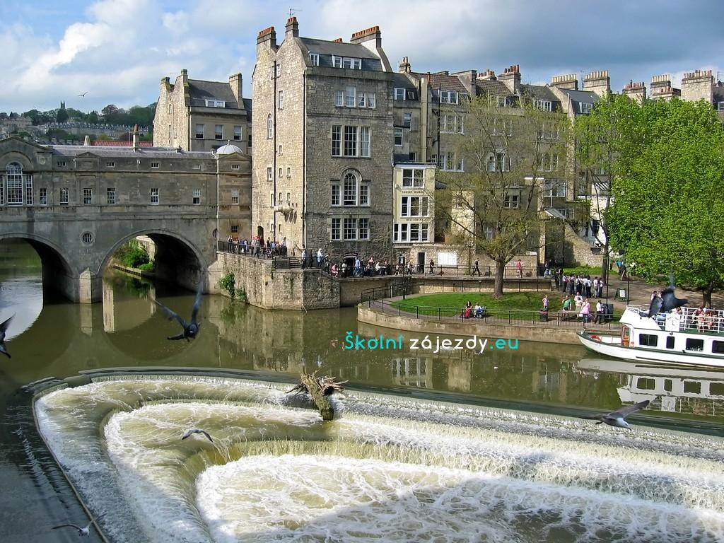 Školní zájezd do Anglie - Bath