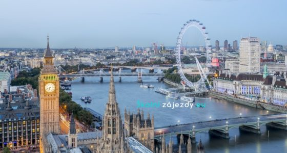 Školní zájezd do Anglie - Londýn