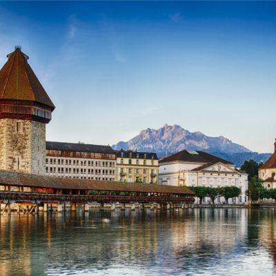 Školní zájezd do Švýcarska - Luzern