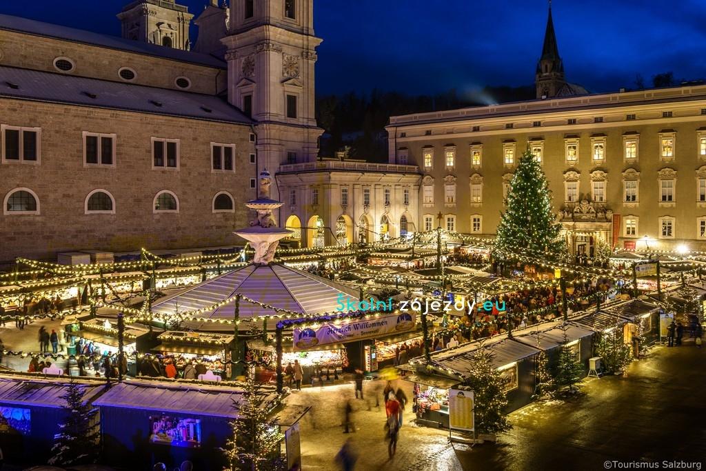 Školní adventní zájezd Salzburg
