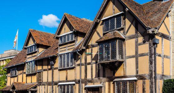 Školní zájezd do Anglie - Stratford nad Avonou