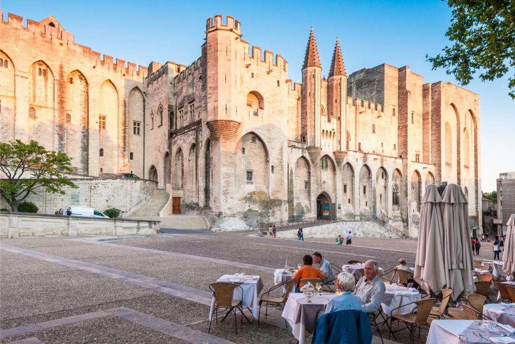 Školní zájezd do Avignonu