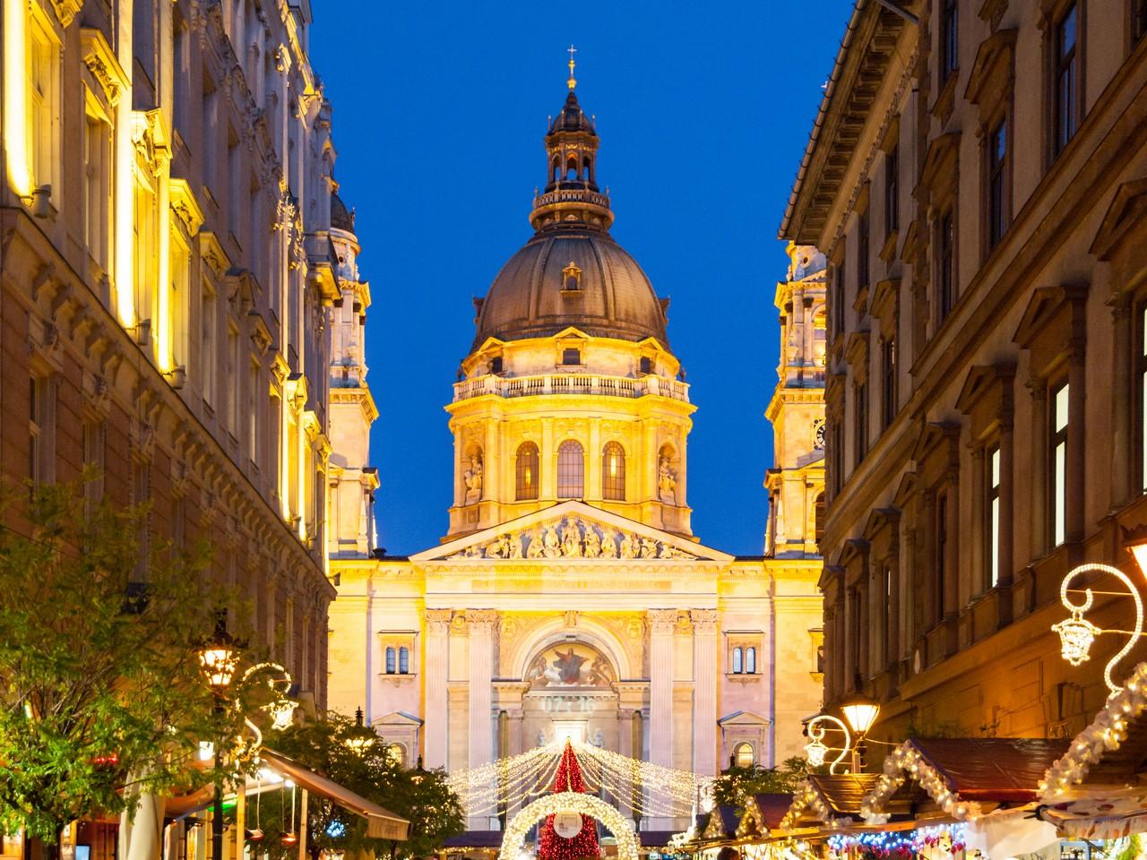 Školní zájezd do adventní Budapešti